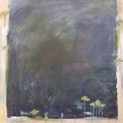 "Meditation, 48"" x 48""<br />Acrylic on Canvas"