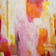 """30"""" x 30"""" Acrylic on Canvas"""