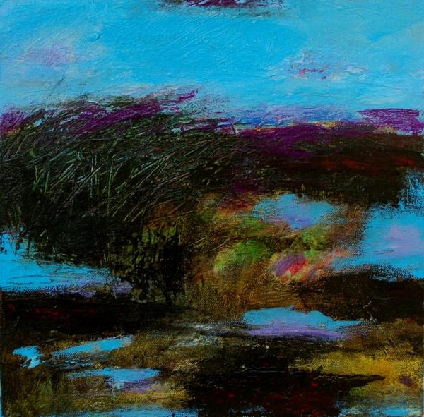 """12"""" x 12"""" Acrylic on canvas"""