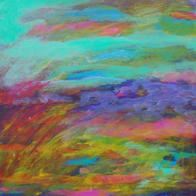 8X8 Landscape by Ian Marie Baker